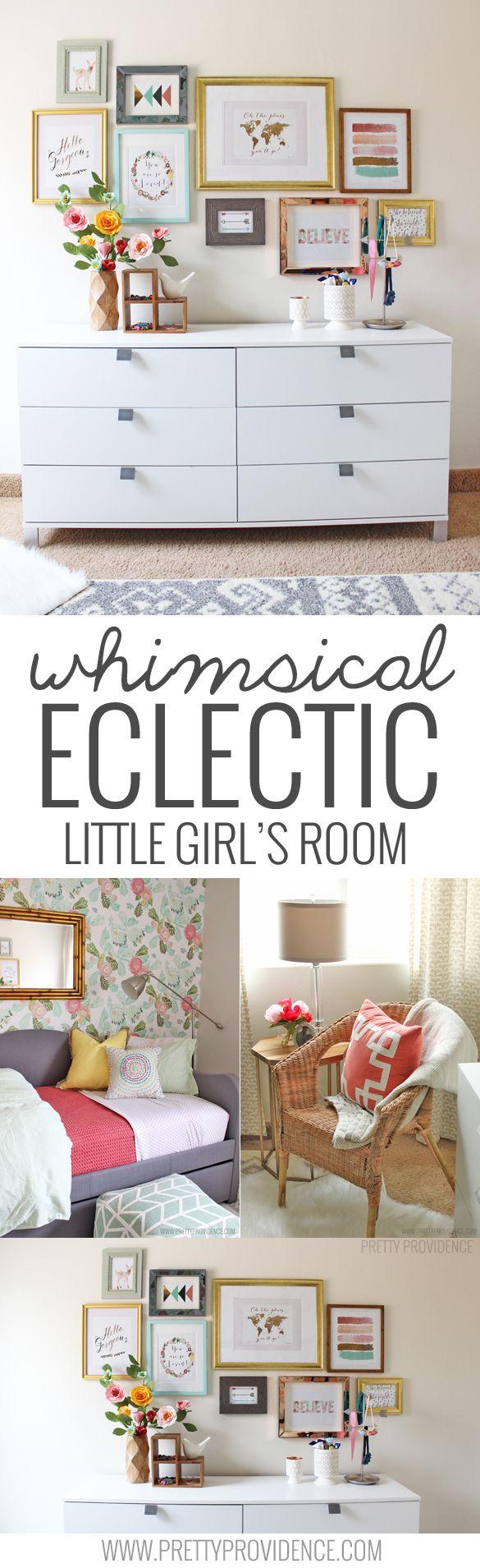 Whimsical Little Girls Room   DIY Home Decor Ideas   Pinterest ...