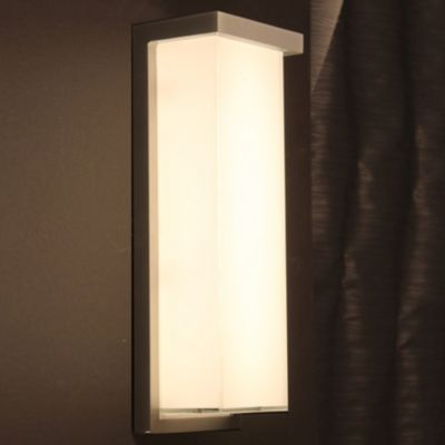 Ledge Indoor/Outdoor LED Wall Sconce | Wall sconces, Indoor outdoor ...