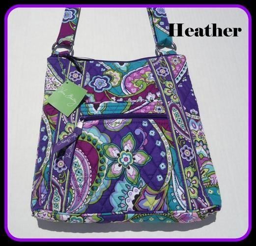 Genuine Vera Bradley Large Hipster Messenger Bag . Starting at  5 on  Tophatter.com eef4a9891a89a