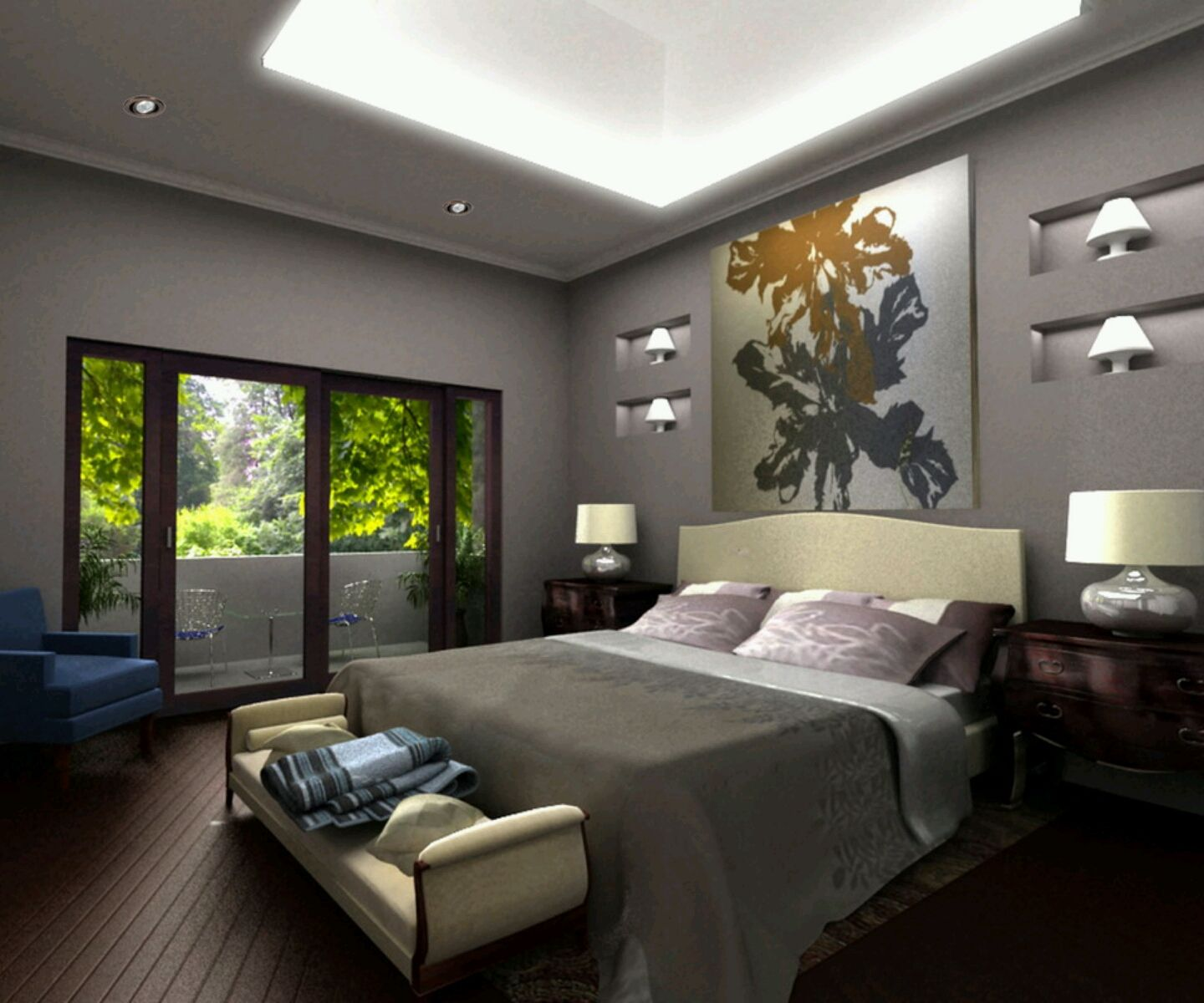 Modern Bed Designs Beautiful Bedrooms Designs Ideas Small