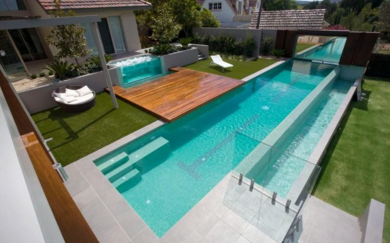 Amazing inspiration modern swimming pool design for Small lap pool designs