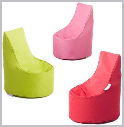 Glammkids Bean Bag - AUD 49.50 »  These are beanbags with a modern twist. They're light enough to move around and minimal enough to blend into adult spaces.