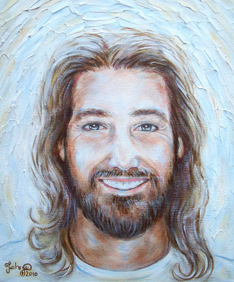 his smile lights the world by tahnja on deviantart christ our