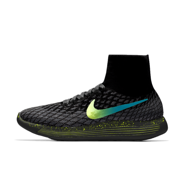 more photos 52fa4 90902 Nike LunarEpic Flyknit Shield iD Men's Running Shoe | My ...
