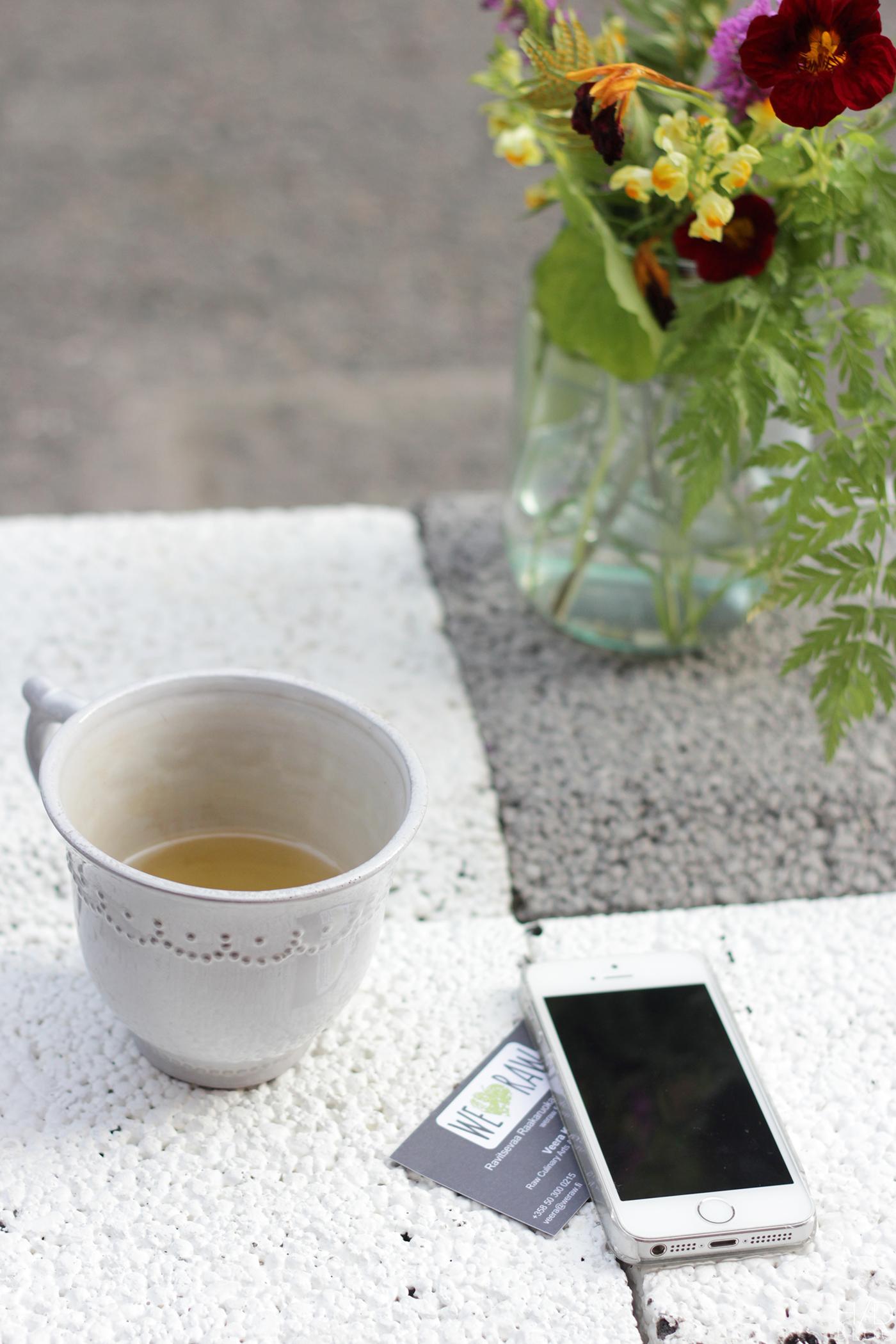 Happy days: WERAW & HIMA Organic Café