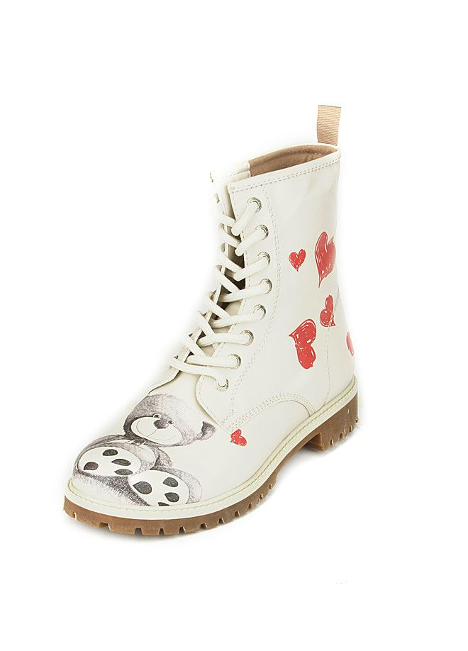Dogo Shoes - Teddy Bear Bot  d7bcf757bcfb