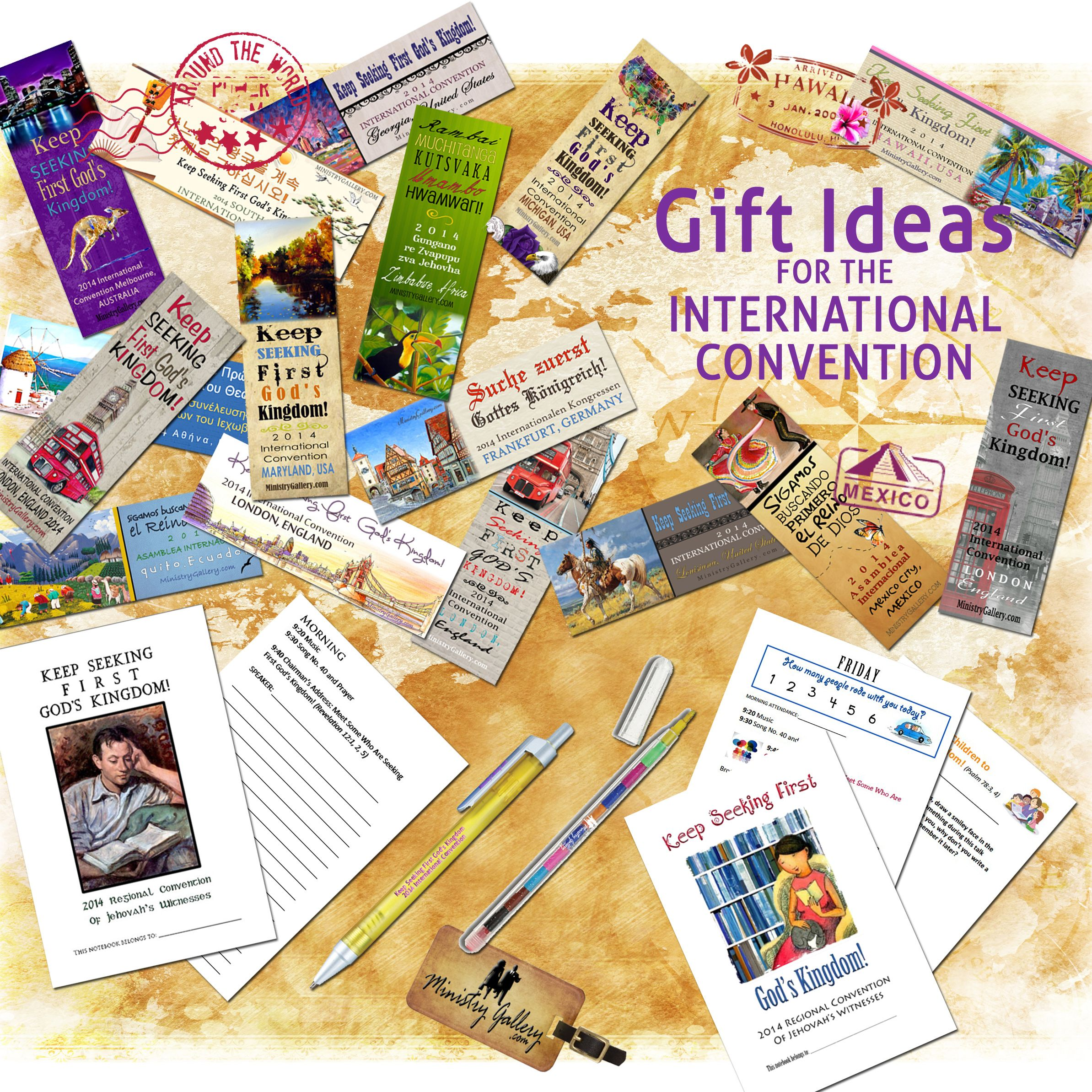 Wedding Witness Gifts: 2014 International Convention Souvenirs