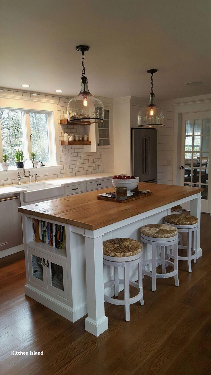 New Kitchen Island Decoration Kitchen Remodel Small Home Decor Kitchen Farmhouse Kitchen Island