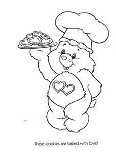 care bear valentines coloring pages - photo#27