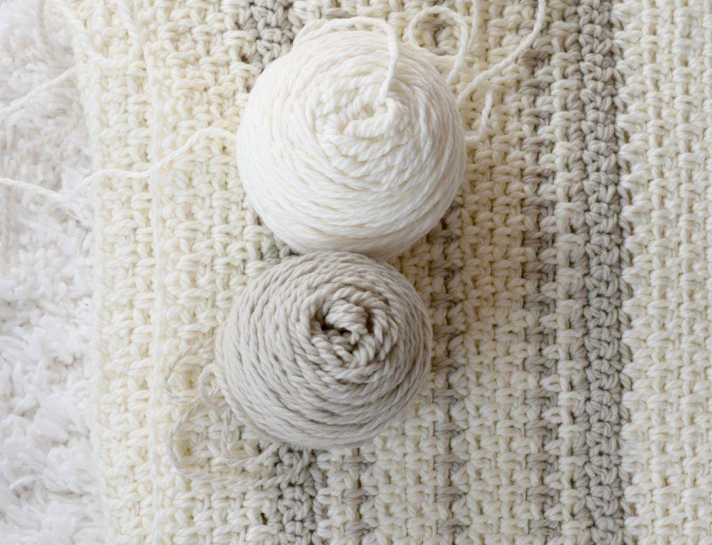 Mod Heirloom Crochet Blanket Pattern | Hook, yarn & scissors ...