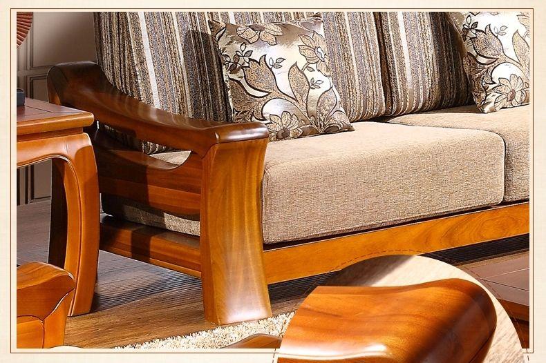 Teak Wood Wooden Sofa Design Catalogue