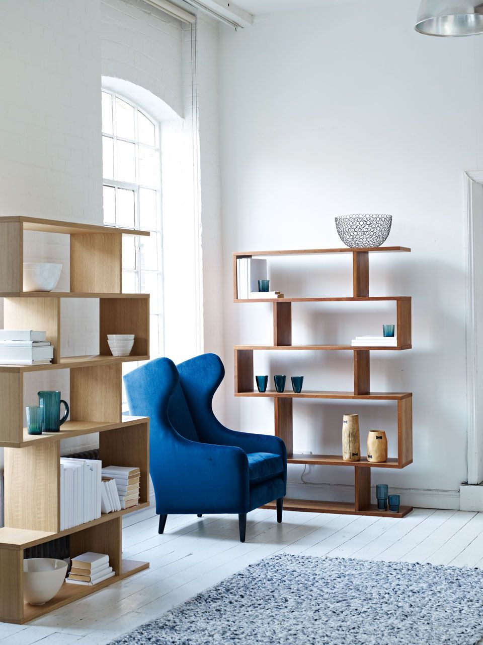 Content by Conran Balance Shelving and Duke Armchair ...