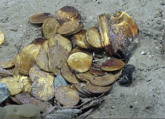 how to clean coins found buried