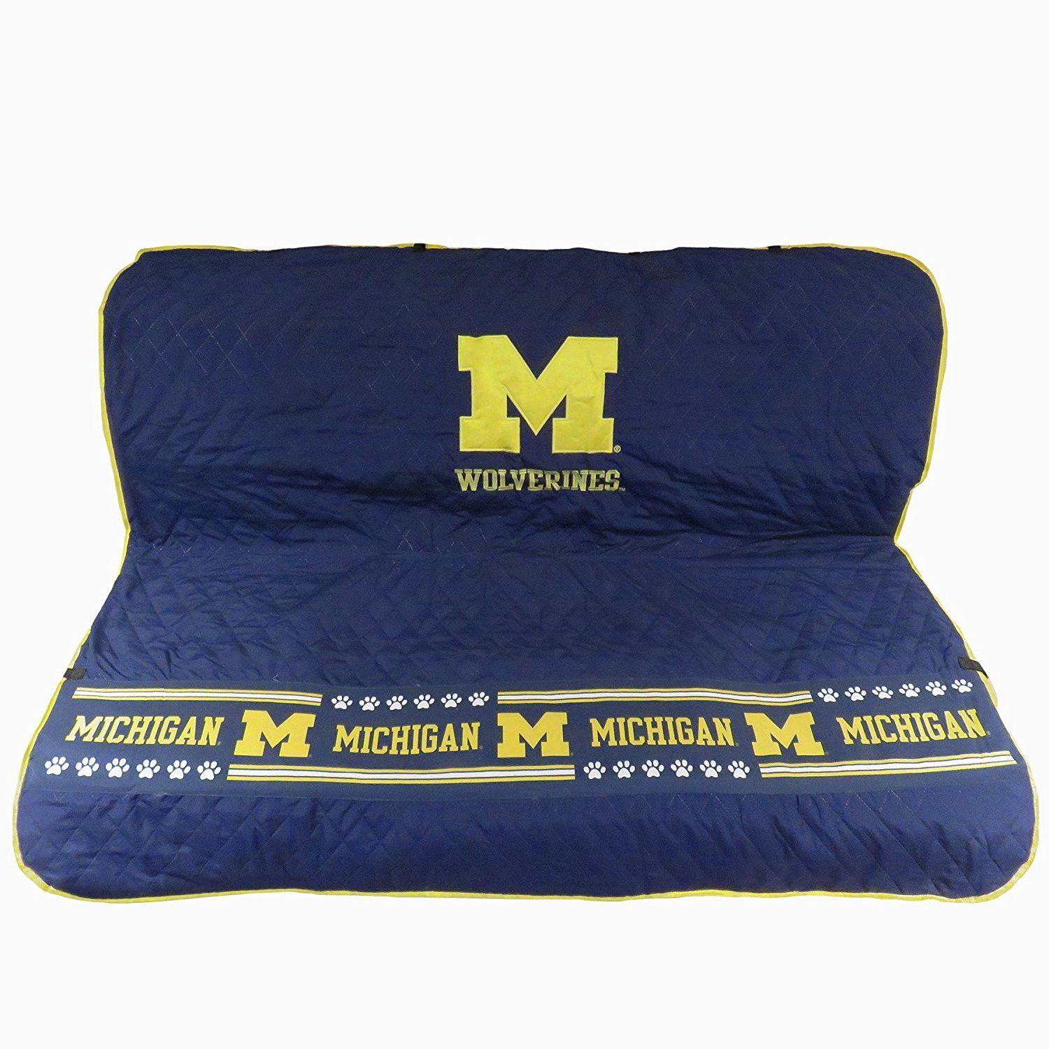 NCAA Michigan Wolverines Dog Car Seat Cover