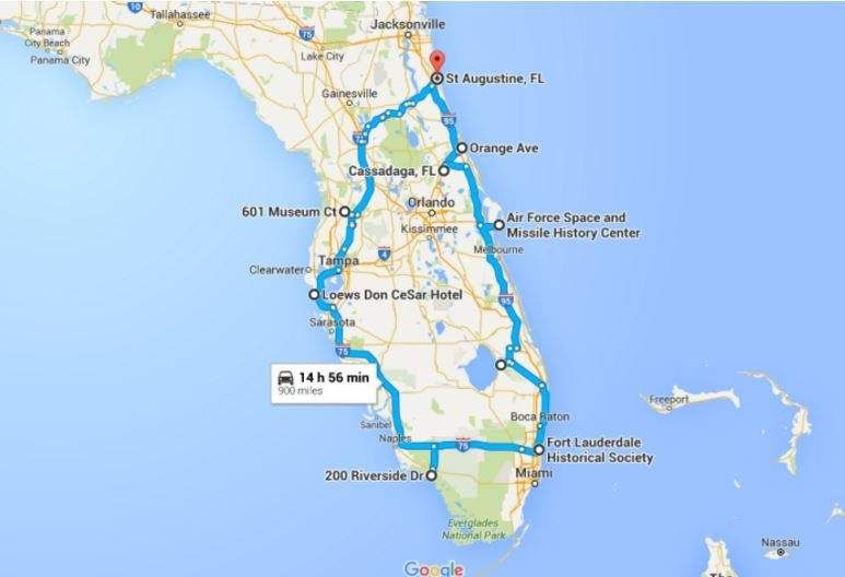 If Youre In Florida Or Are At Least Facebook Friends With - Google maps florida
