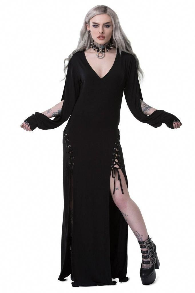 6d1ade987c65 Killstar - Libra Rising Maxi Dress  maxidressesgorgeous