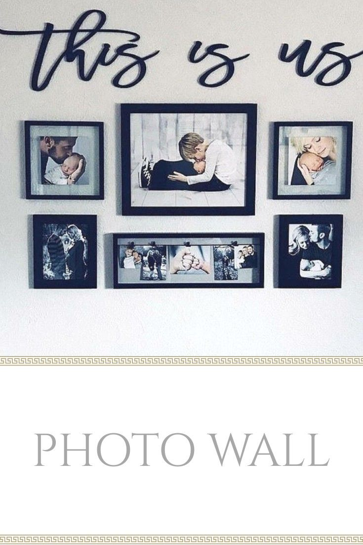 This Word Wall Art Is The Perfect Addition For A Photo Wall Of The Family Getting These For The New Ho Photo Wall Decor Family Room Wall Art Family Wall Decor