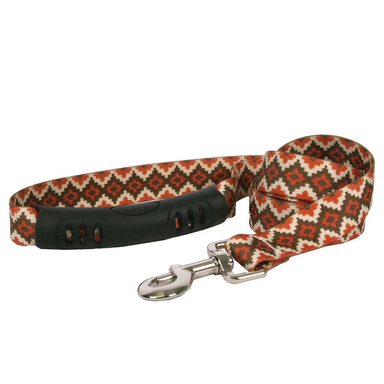 Yellow Dog Design Tie-Dye EZ-Grip Dog Leash-with Comfort Handle