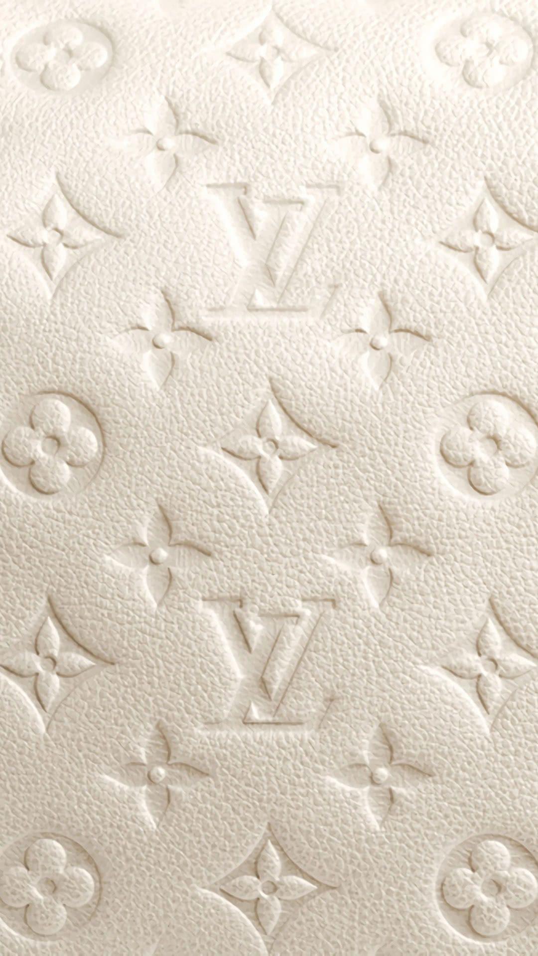Louis Vuitton - Bianco | Sfondo iPhone