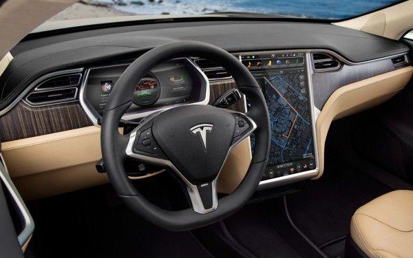 Tesla Announces Plans To Rapidly Build A Cross Country Supercharging Network Tesla Model S Tesla Interior Tesla Model