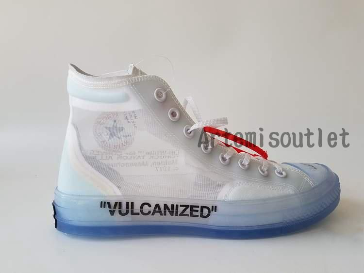46f611c7b306 Good Quality Cheap Price UA Off White Converse All Star Collection  Vulcanized White for Sale -- Artemis Outlet