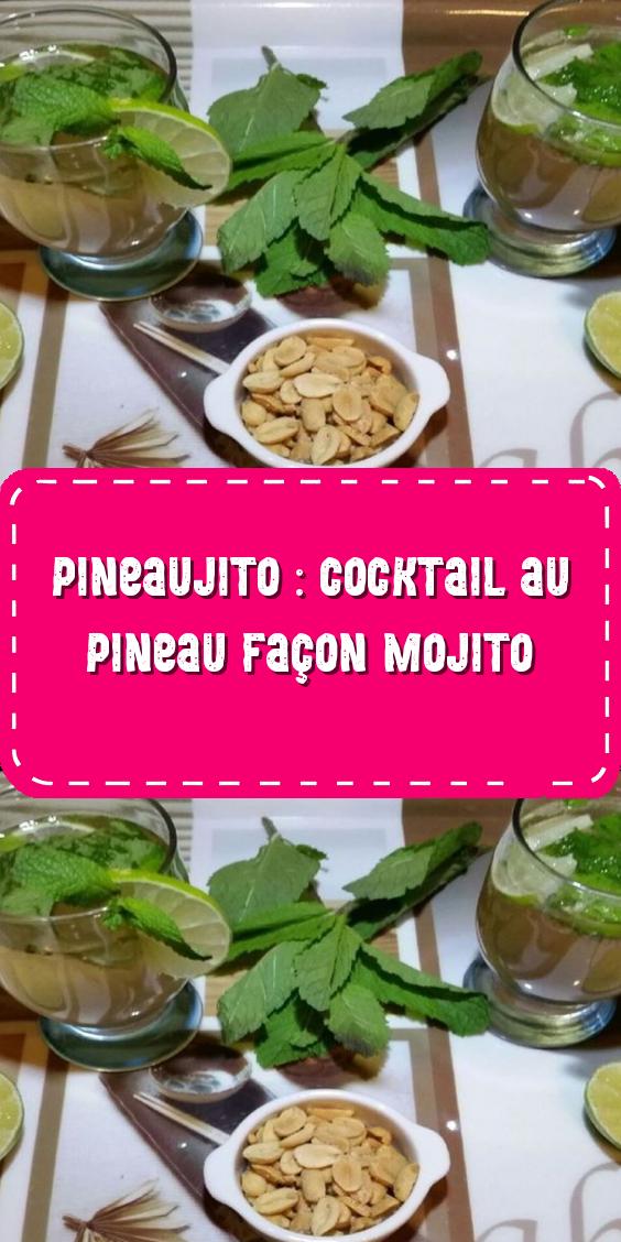 Pineaujito : cocktail au Pineau façon mojito   Mojito ...