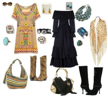 I love the gypsy look!