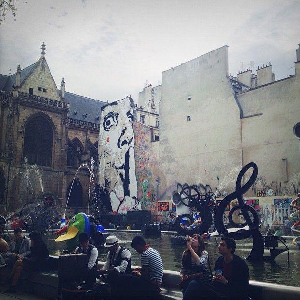 Fontaine Stravinsky in Paris, Île-de-France