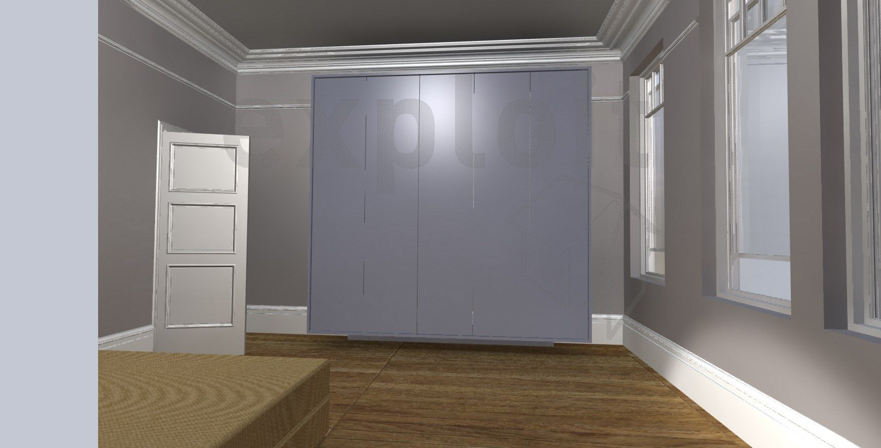 Master bedroom hdb  Master bedroom external frame   Wardrobe designs where the