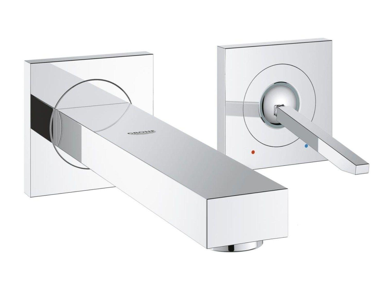 2 loch waschtisch mischbatterie mit durchflussbegrenzer eurocube joy size s waschtisch. Black Bedroom Furniture Sets. Home Design Ideas