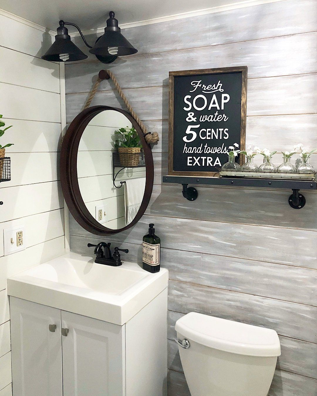 Fresh Soap And Water Sign Wood Bathroom Sign Farmhouse Etsy Farmhouse Bathroom Bathroom Inspiration Bathroom Wall Decor