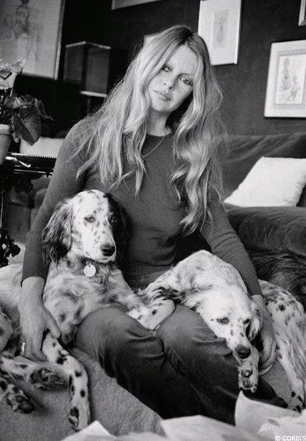 Brigitte Bardot  em defesa dos animais