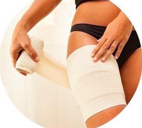 vendas para adelgazar piernas
