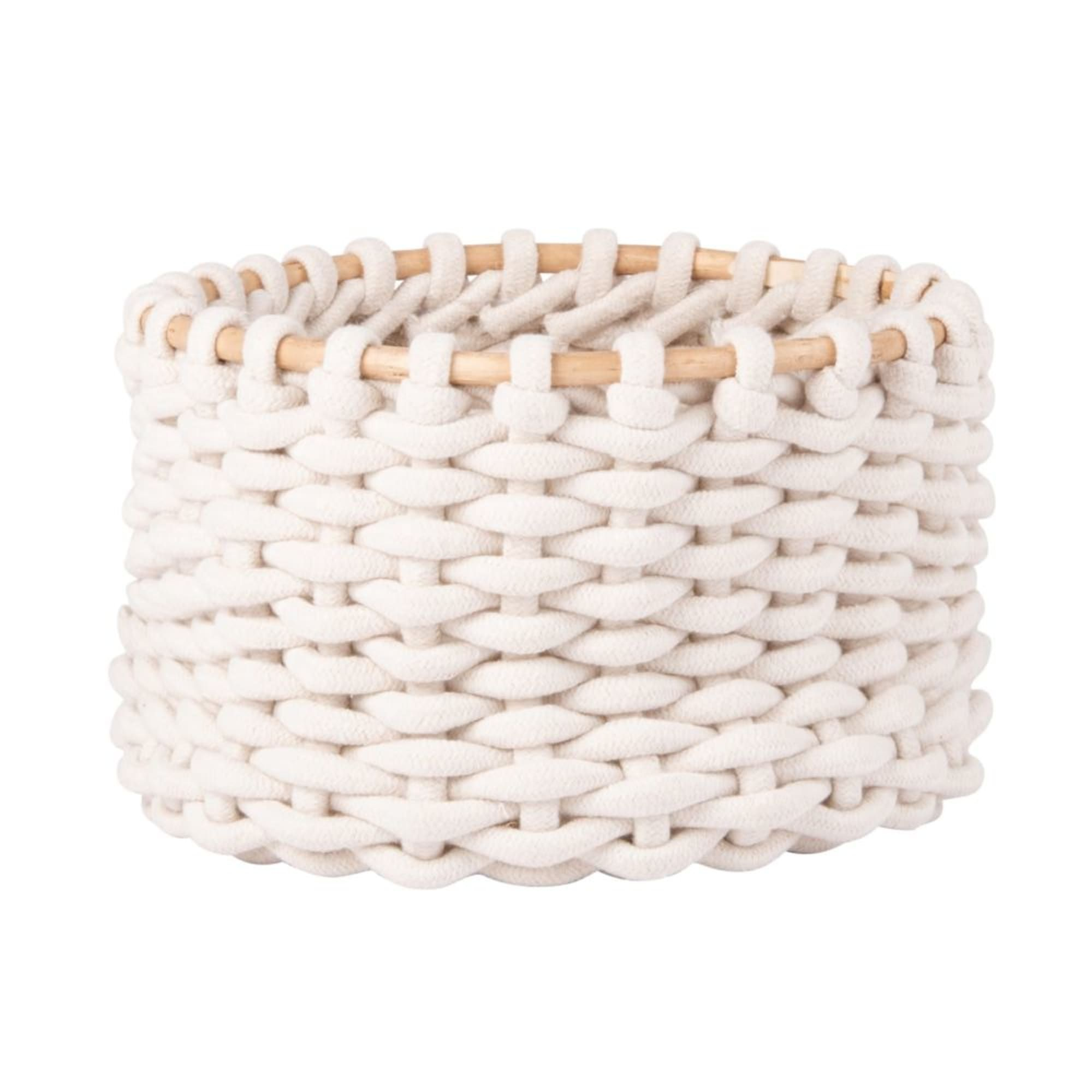 59a344405684ca9abf41eb4a4b6596a5 - Better Homes And Gardens Chunky Rope Basket