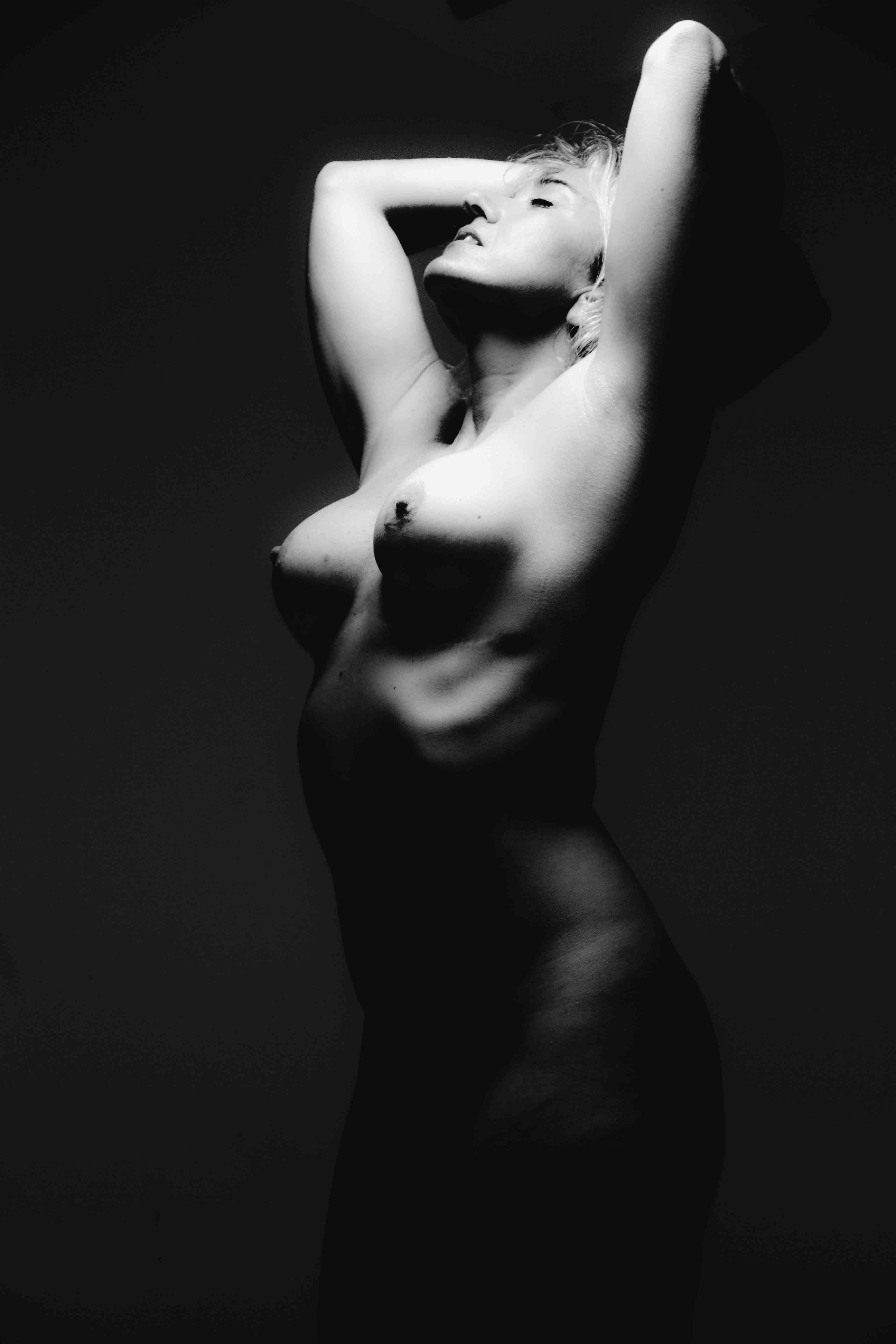 Photographic art male female nude