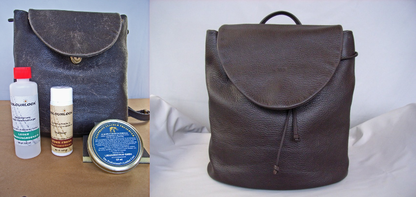 6833be5c9e85 Colourlock leather bag cleaning and care
