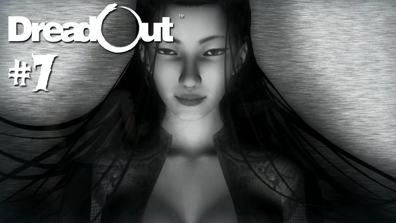 DreadOut Act 1 #7 [Facecam] - Die Lady in Rot - Let's Play DreadOut