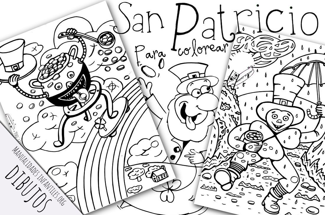 Encantador Hojas Para Colorear De San Patricio Inspiración - Ideas ...