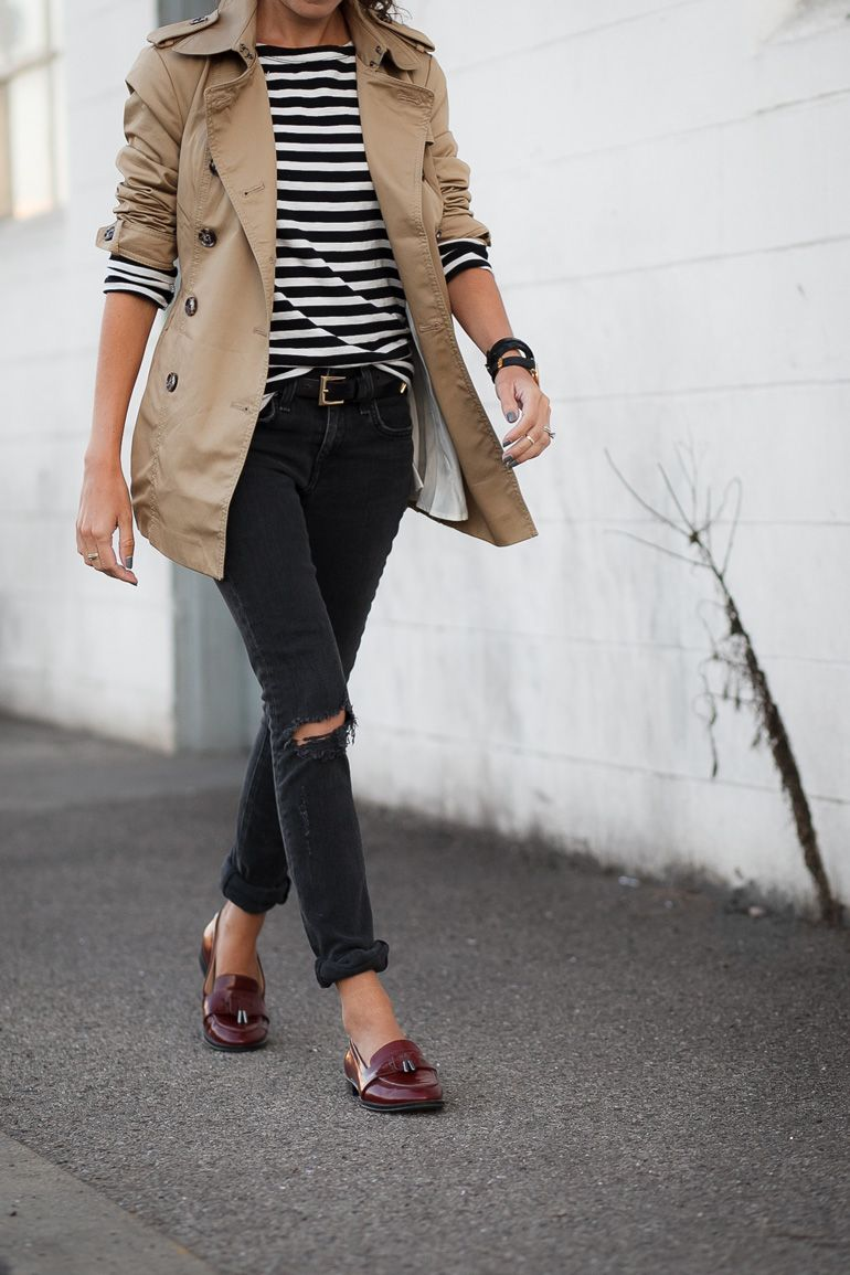 Short Trench Trench Coat Outfit Coat Outfit Casual Short Trench Coat [ 1155 x 770 Pixel ]
