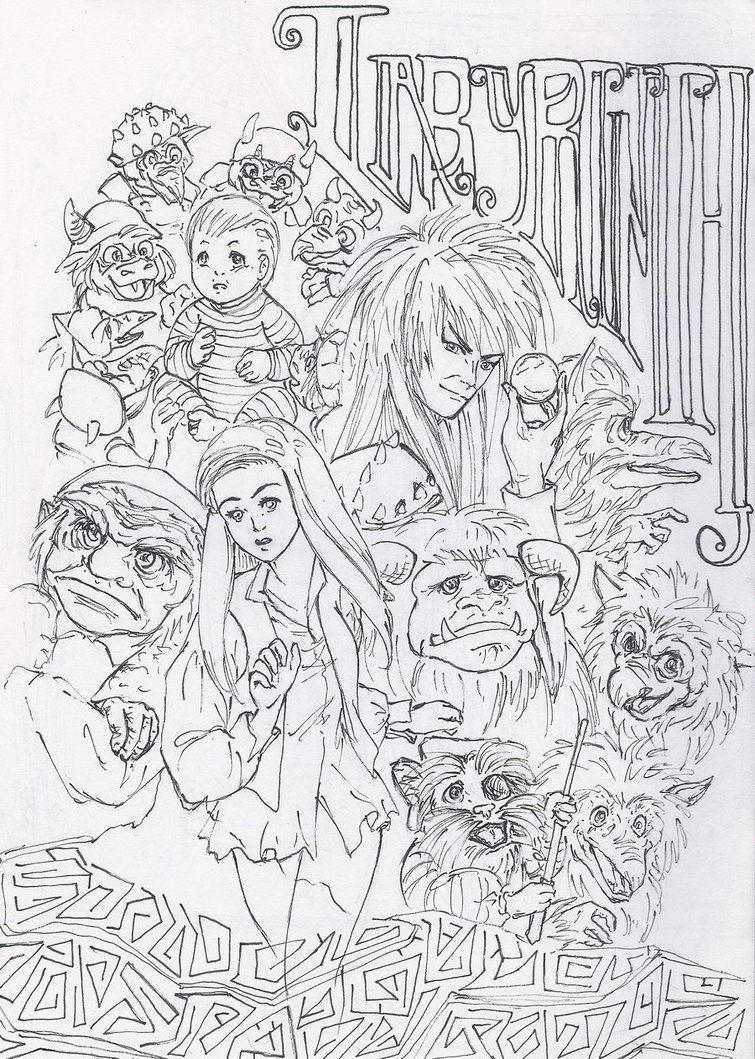 labyrinth COLORING PAGES - Google Search | Coloring | Pinterest ...