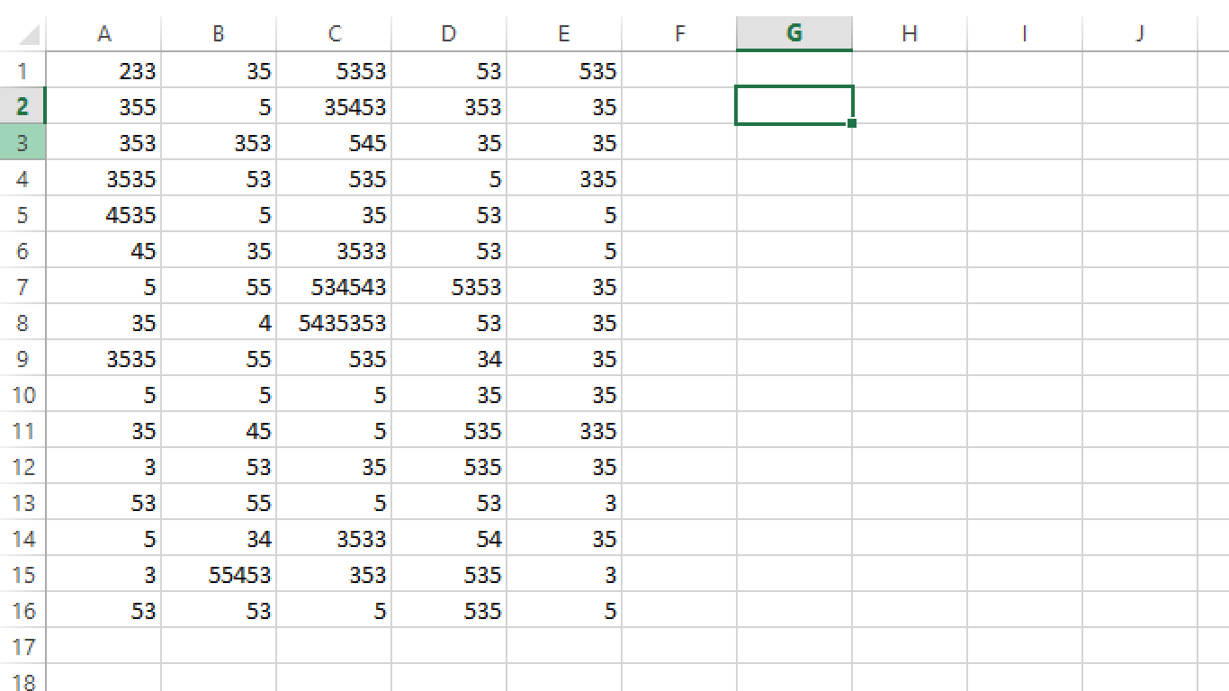 Worksheet In Excel