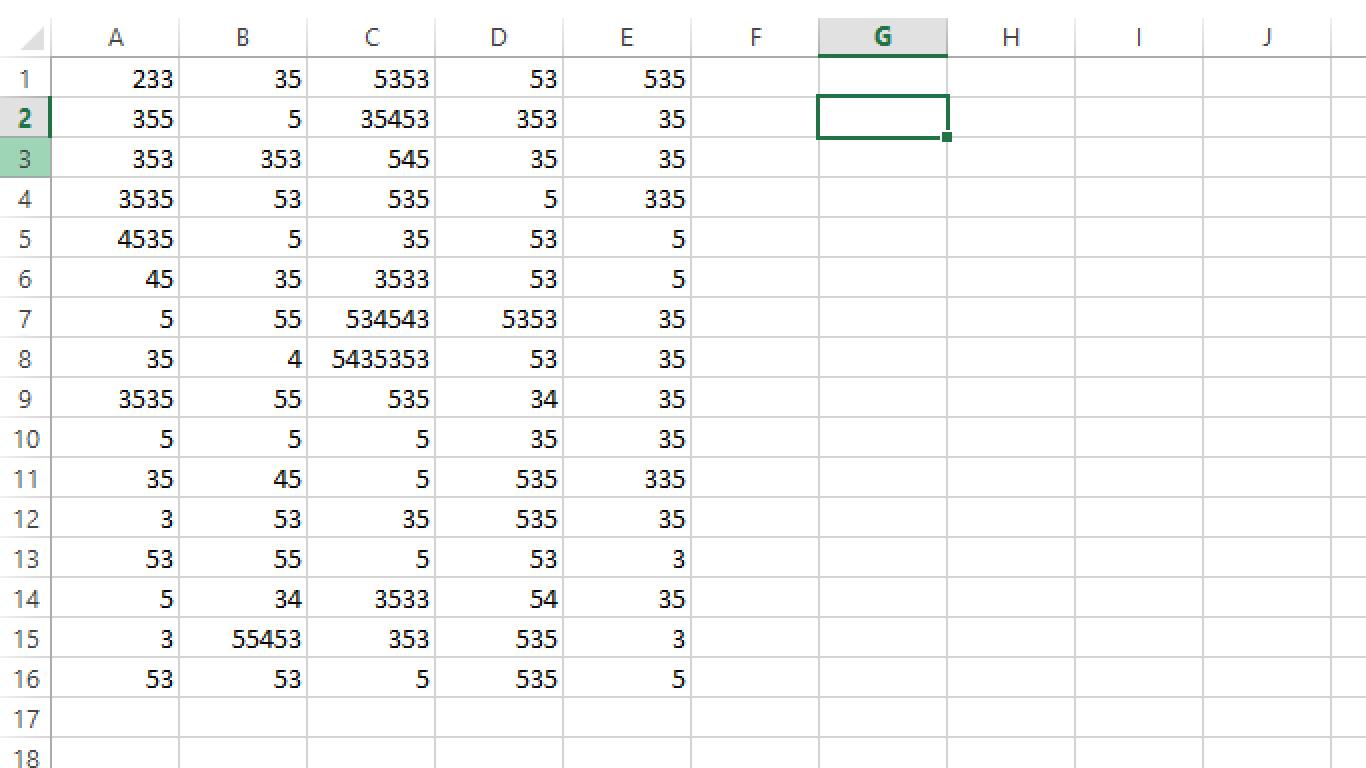 Worksheet In Excel