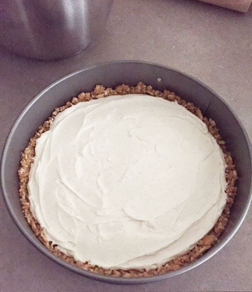 No-Bake Cinnamon Toast Crunch Cheesecake - Pinch Me Twice