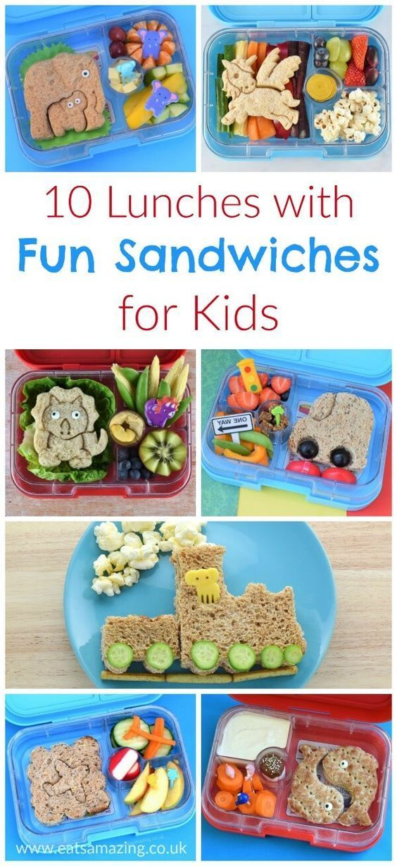 10 Lunchbox Ideas with LunchPunch Fun Sandwiches images