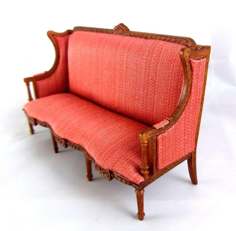 wohnzimmermobel jugendstil : Dolls House Finest Miniature Furniture Bespaq Guadie Art Noveau