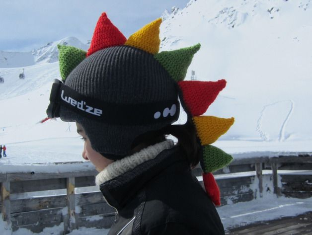 a0c24877939 Cute Funny Dragon Ski Helmet Cover
