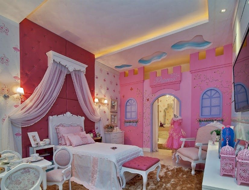 C mo decorar un dormitorio de princesa disney bedroom for Muebles de princesas