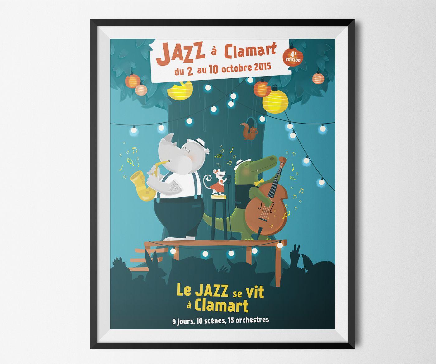Jazz Festival / Poster illustration on Behance