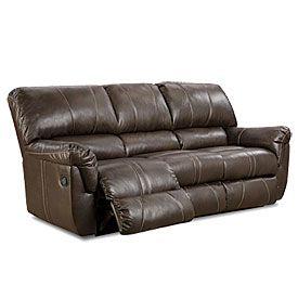Simmons Bucaneer Cocoa Reclining Sofa Sofa Deals Sofa