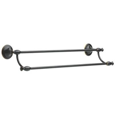 Delta Meridian 24 in. Towel Bar in Oil Rubbed Bronze-137240 at The ...
